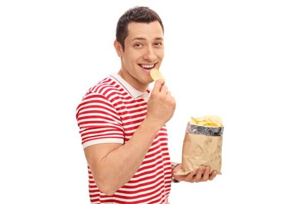 給我洋芋片,其餘免談 Fancy a Snack? Have Some Potato Chips