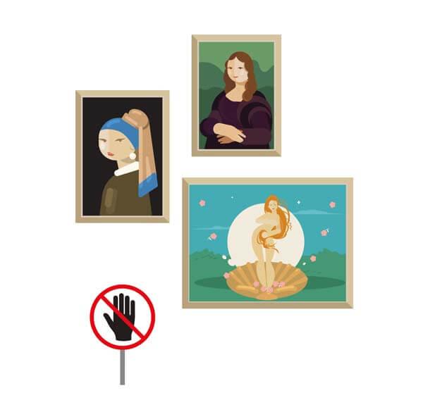 博物館展品 不是告訴你不准碰了嗎? Don't Touch the Exhibits