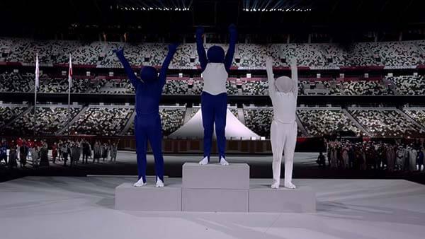 「超級變變變」成東奧開幕亮點 steal the show不是偷走表演而是… (照片來源/TOKYO 2020 twitter)