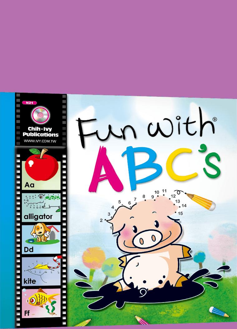 Fun with ABC's 字母卡+ 1CD