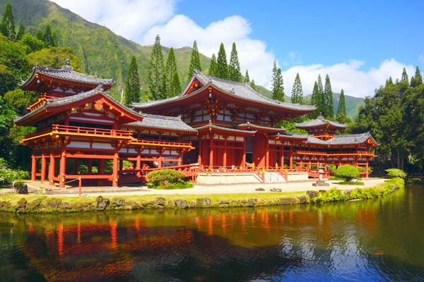 Byodo-in Temple  夏威夷的平等院