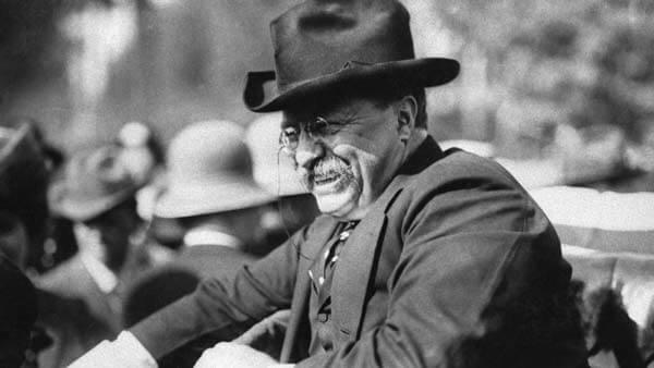 經典不敗的毛茸茸玩伴:泰迪熊(上) Teddy Bears Teddy Roosevelt 圖片來源:https://www.history.com/